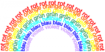 Основные цвета по-немецки