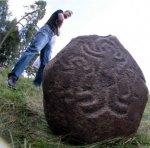 """Текст с пропусками """"Im Bezirk Schtschutschin (Weißrussland) entdeckten die Heimatkundler eine steinerne Ikone"""""""